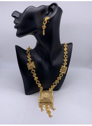 Nyla Gold Plated Costume Jewellery Set