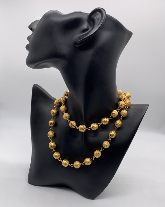 Gold Plated Ball Chain - Jewellery sets - STYLE 2023