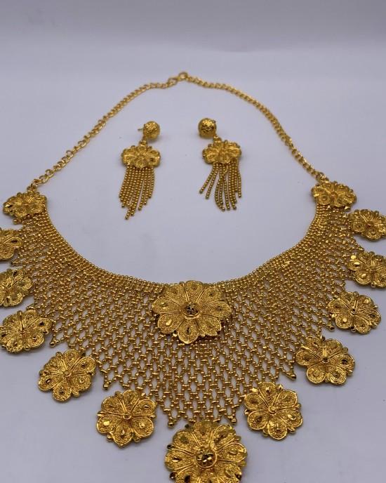 Imani Gold Plated Set - Jewellery sets - STYLE 2021
