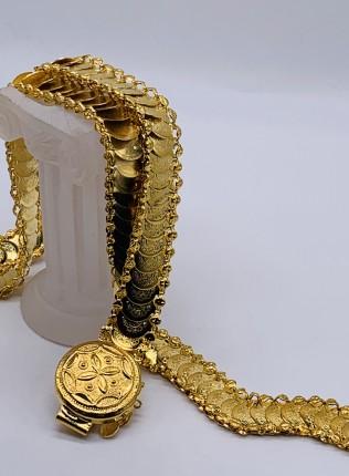 22K Gold Plated Coins Bridal Belt