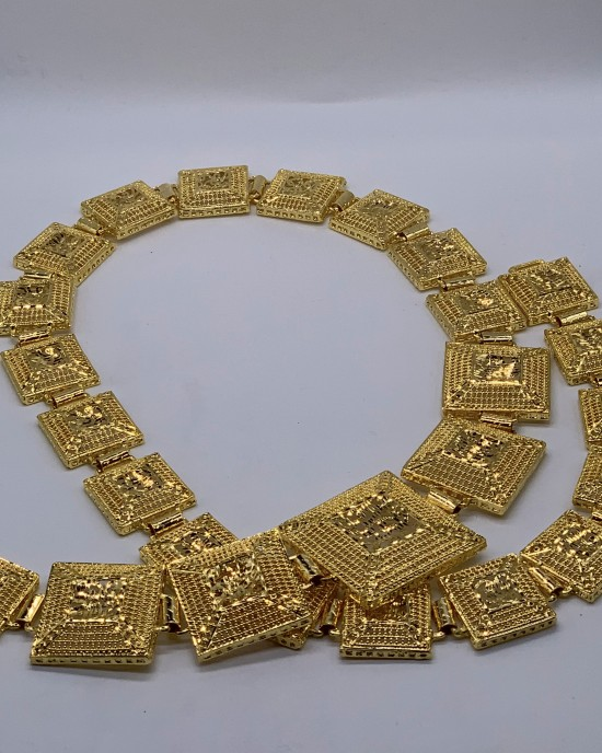 Bridal 22K Gold Plated Belt - Jewellery sets - STYLE 2025