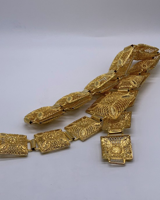 Bridal 22K Gold Plated Belt - Jewellery sets - STYLE 2026