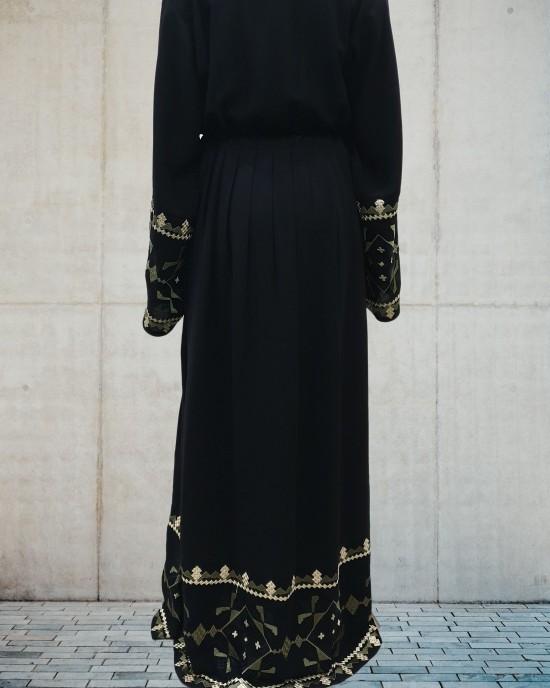 Esmi Border abaya style uk - Abayas - ES19
