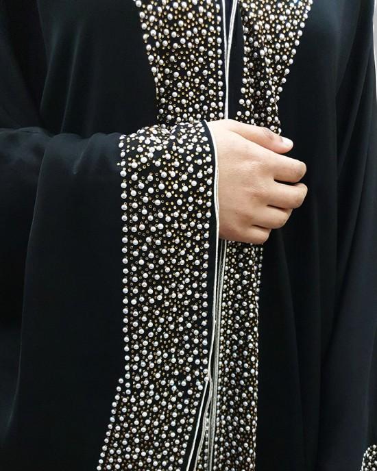 Hayyat star light open abaya style uk - Abayas - HY19