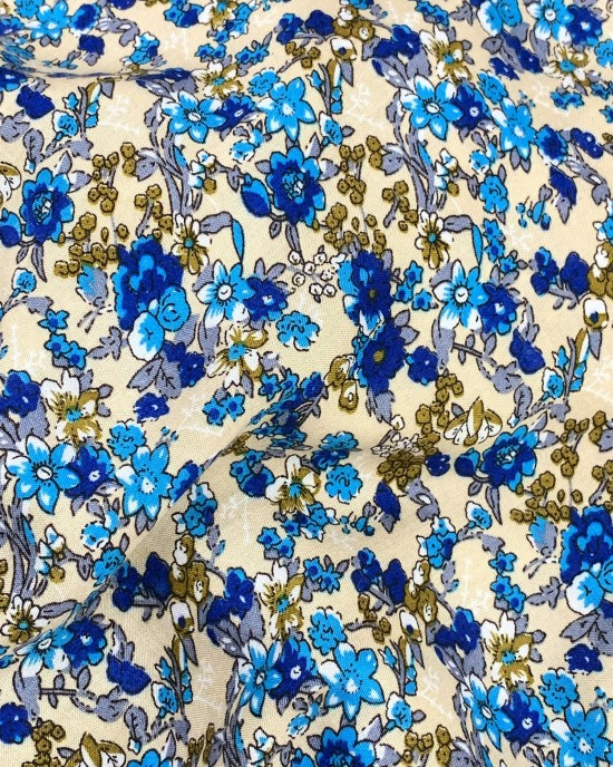 Cotton Floral Prayer Dress
