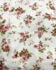 Printed Jersey Stretch White Roses Prayer Dress - Prayer Dress - PD205