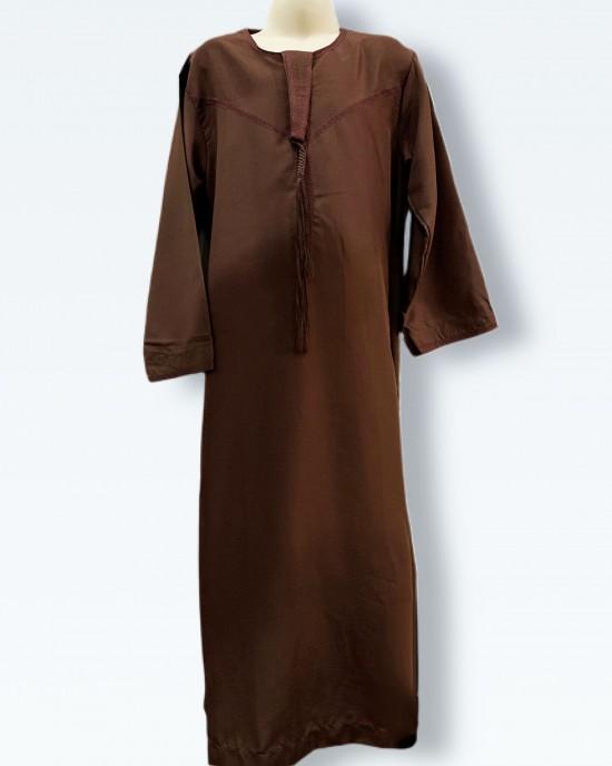 Boys Chocolate Emirati Thobe