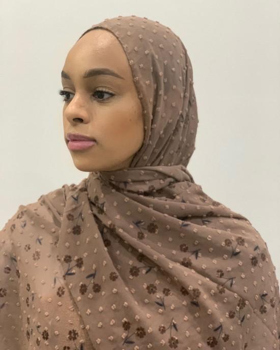 Chiffon Plumetis Hijab