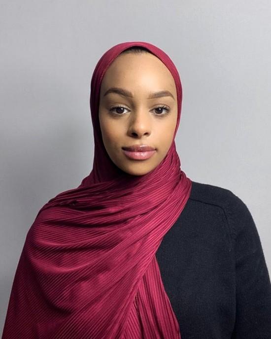 Premium Ribbed Jersey Hijab - Jersey
