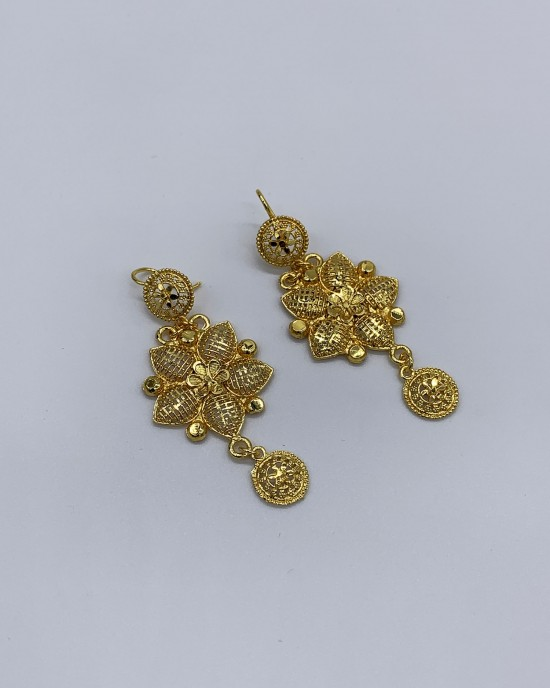 Bahar - Indian 22K Gold Plated Bridal Set - Jewellery sets - STYLE 206
