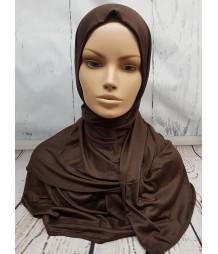 Jersey Hijab - Chocolate