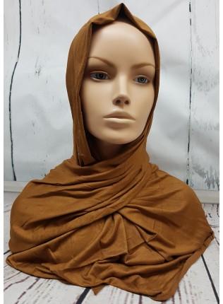 Jersey Hijab - Toffee