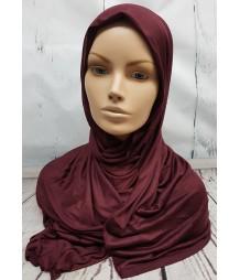 Jersey Hijab - Maroon
