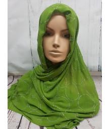 Evening Hijab - green