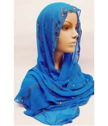 Evening Hijab - Lapis Blue