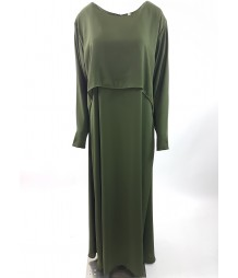 Long Sleeve Maxi Dress Style DRE006 UK