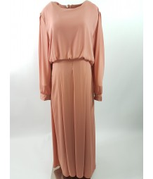 Long Sleeve Maxi Dress Style DRE009 UK