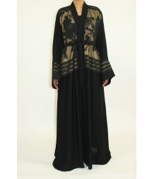 Aairah Front Open Abaya Style AUG012 UK