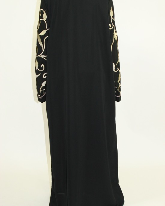 Zahwah Closed Abaya Style AUG017 UK - Abayas - AUG017