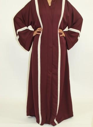 Aafreeda Open Abaya Style AUG009 UK
