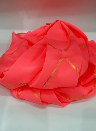 Almas Occasion Hijab / Scarf - Coral