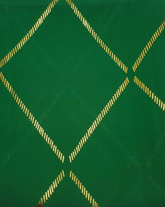 Almas Occasion Hijab / Scarf - Emerald Green