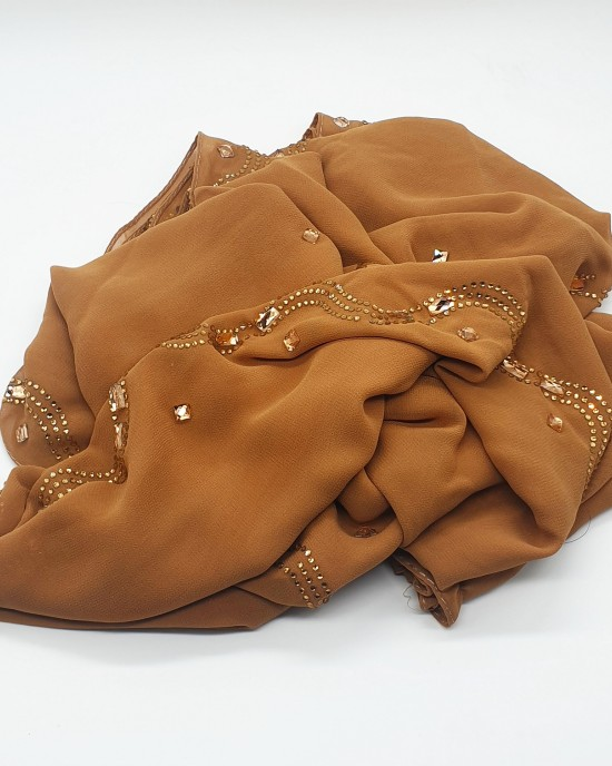 Nayla Occasion Hijab - Royal Scarf - Occasion Hijabs - HIJ647