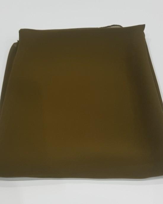 Elegant soft Georgette Hijab - Khaki Green - Scarf - Everyday Hijabs - HIJ004