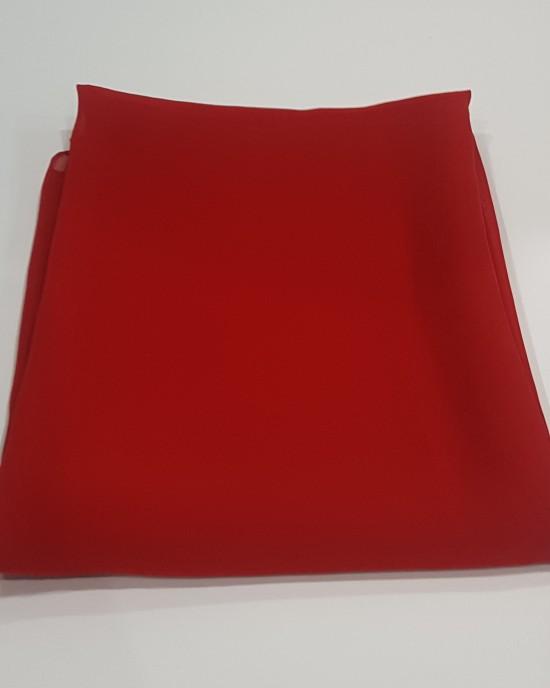 Elegant Soft Georgette Hijab - Candy Red - Scarf - Everyday Hijabs - hij601