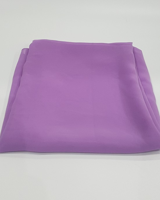 Elegant Soft Georgette Hijab - Lilac - Scarf - Everyday Hijabs - HIJ610