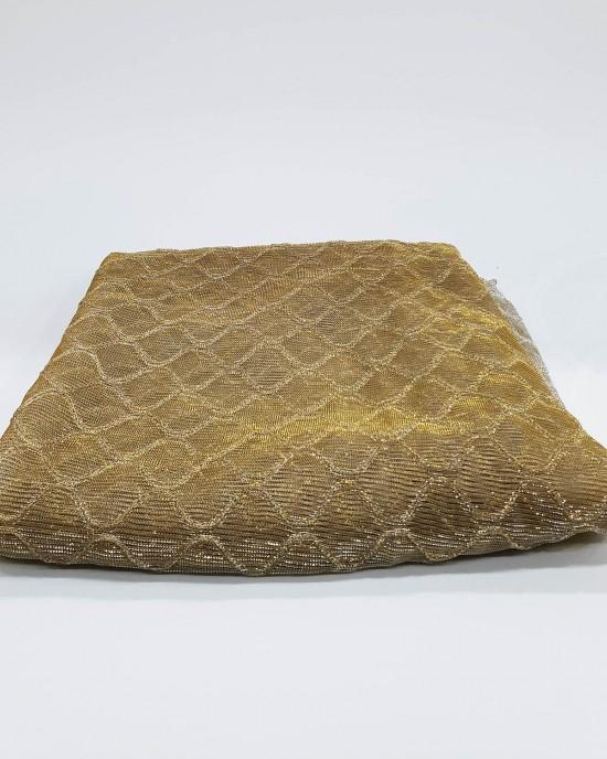 Gold Metallic Iridescent Hijab - Scarf - Occasion Hijabs - HIJAB200