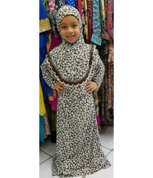 Green Dot Prayer Dress AME003
