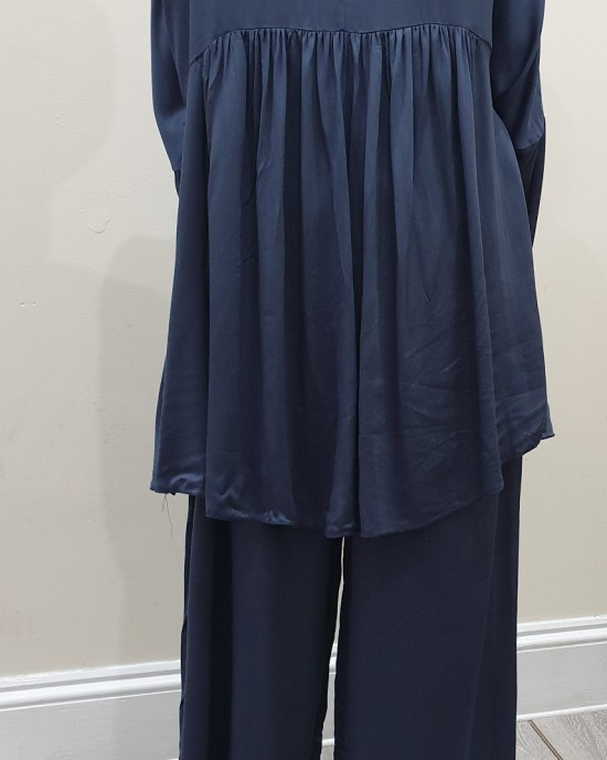 Slate Grey Turkish Style Trouser Set - New Arrivals - SG19