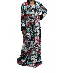 BURDUNDY MAXI DRESS