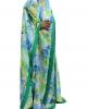 Printed Palm Chiffon Kids Kaftan Dress - Childrens Dresses - TIA010