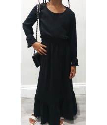 Mini BLACK Maxi Dress