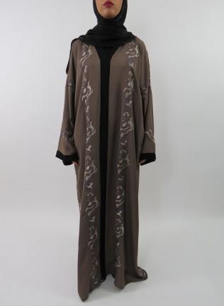 Amani's Neda Embroidery Abaya Style UK