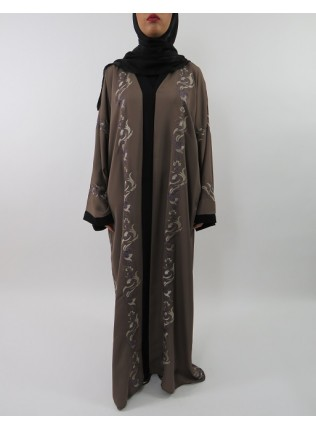 Amani's Neda Embroidery Abaya Style UK