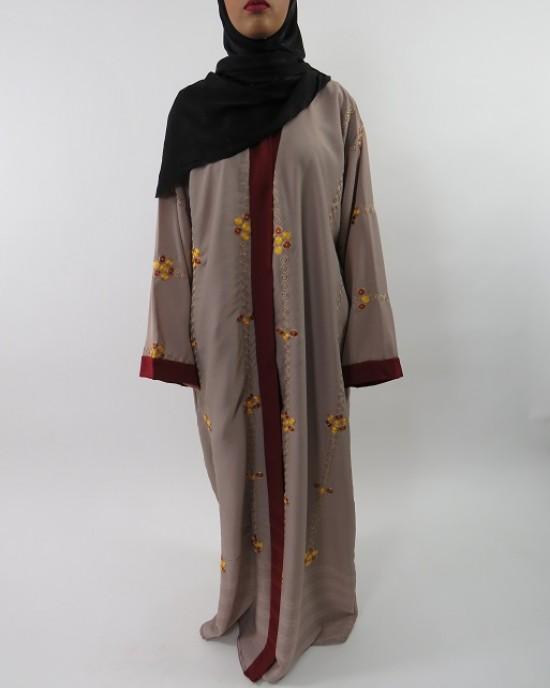 Amani's Exclusive Designer Abaya Style UK - Abayas - Abaya005