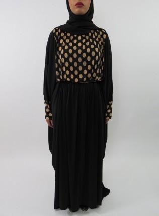 Amani's Jersey Stretch Batwing Abaya Style UK