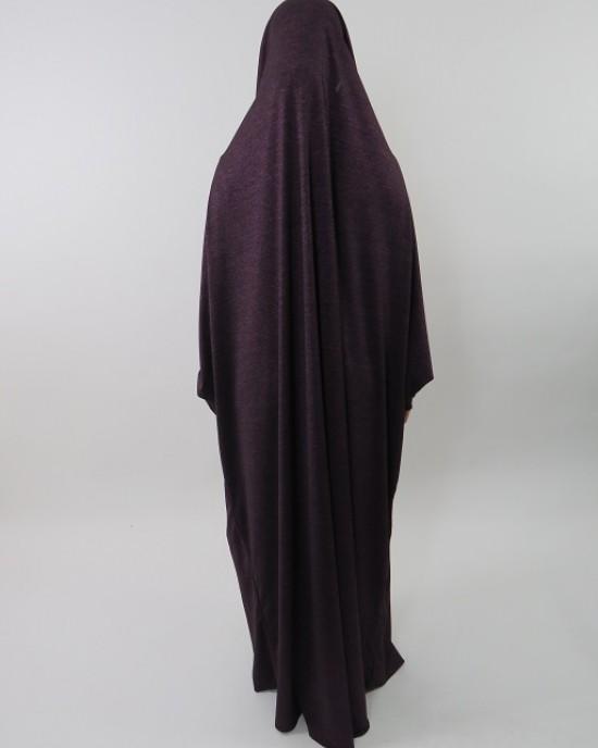 Amani's Jersey Stretch Jilbab – Burka – Burqa – Overhead Abaya Style UK - Burqa - Jilbabs - Burka - JerseyJilbab001