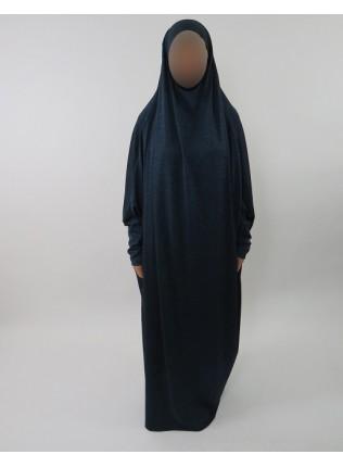 Amani's Jersey Stretch Jilbab – Burka – Burqa – Overhead Abaya Style UK