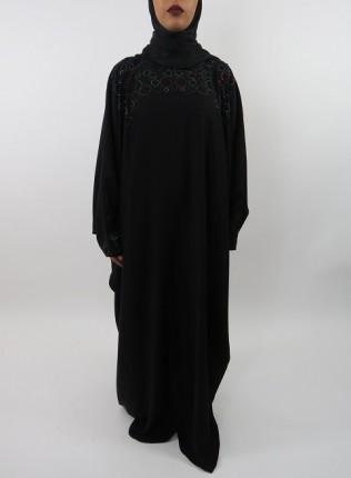 Amani's Multi-Colour Farasha Abaya Style UK