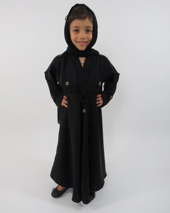 Amani's – Neda Kids Abaya Style UK - Childrens Abayas - KidsAbaya002