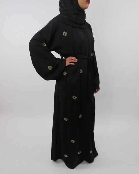 Amani's Open Abaya Style UK - Abayas - Abaya082