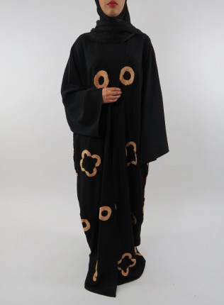 Amani's Full Length Long Sleeve Maxi Kimono Jacket – Coat Style UK