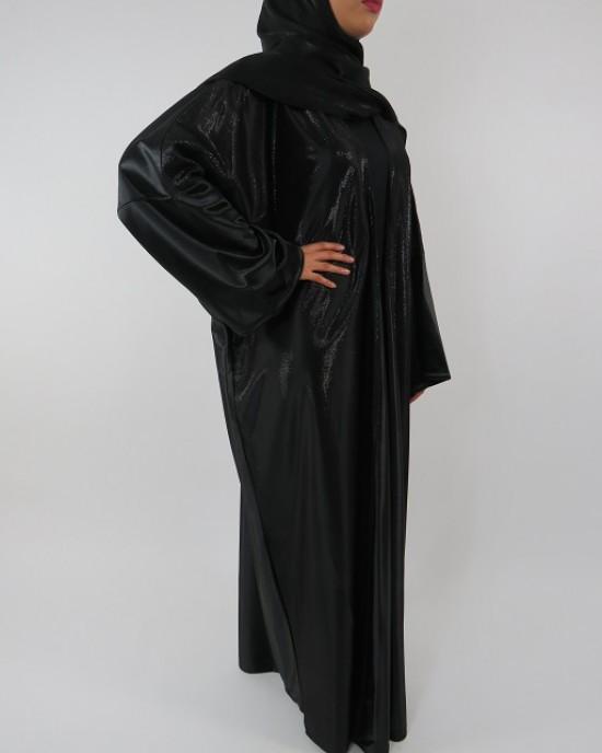Amani's Full Length Long Sleeve Maxi Kimono Jacket – Coat Style UK - Kimono Jackets - Abaya Overcoats - KimonoJacket025