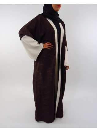 Amani's Full Length Long Sleeve Maxi Kimono Jacket – Coat Style UK