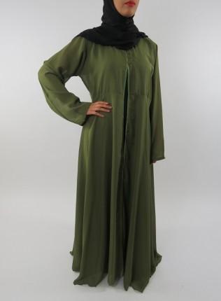 Amani's Green Transparent Chiffon Jacket Style UK