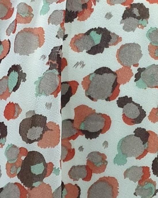 Animal Print Chiffon Maxi Dress - New Arrivals - An19
